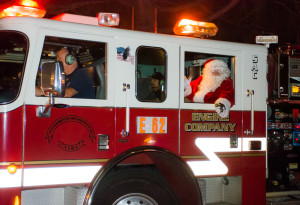Santa Claus is Coming to Rosemont