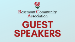 Guest Speakers at RCA's March Meeting