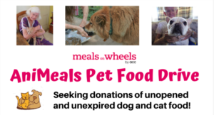 Meals on Wheels Launches Pet Food Drive
